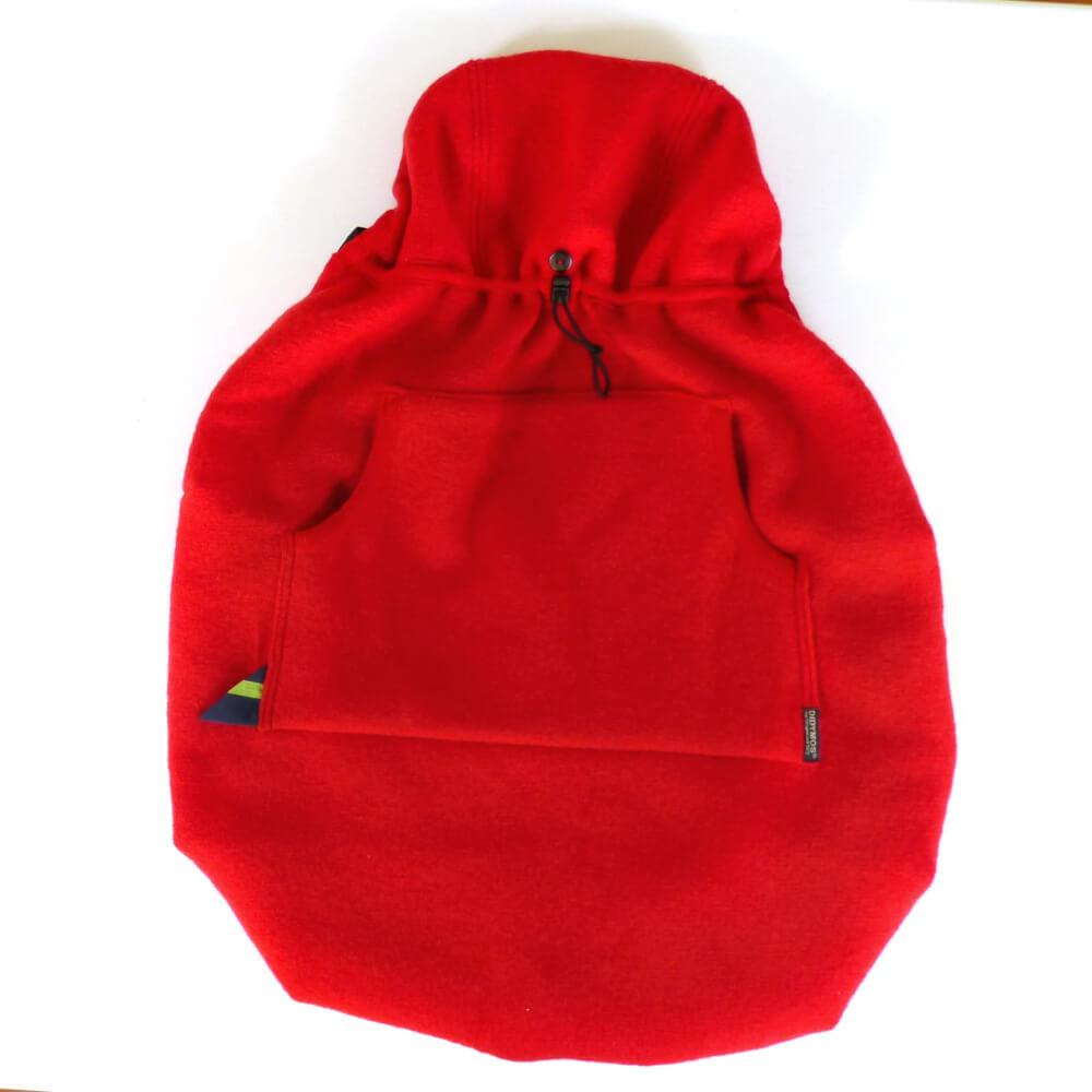 Didymos Babywearing Cover BabyDos Boiled Wool Red-Babywearing Outerwear-Didymos- Little Zen One US Babywearing baby carriers