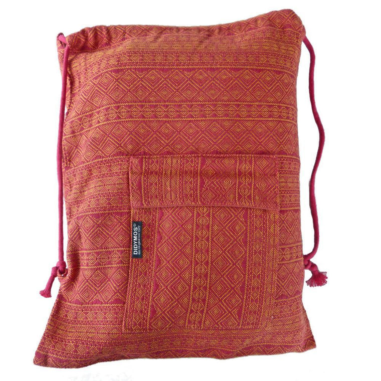 Didymos Backpack Prima Ruby Mandarine-Babywearing Accessories-Didymos- Little Zen One US Babywearing baby carriers