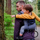 Didymos DidyGo Onbuhimo Doubleface Anthracite-Onbuhimo-Didymos- Little Zen One US Babywearing baby carriers