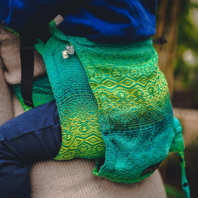 Didymos DidyGo Onbuhimo Hearts Malachite-Onbuhimo-Didymos- Little Zen One US Babywearing baby carriers