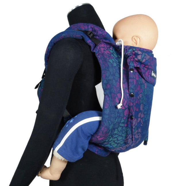 Didymos DidyGo Onbuhimo Mosaic Sparks in the Dark-Onbuhimo-Didymos- Little Zen One US Babywearing baby carriers
