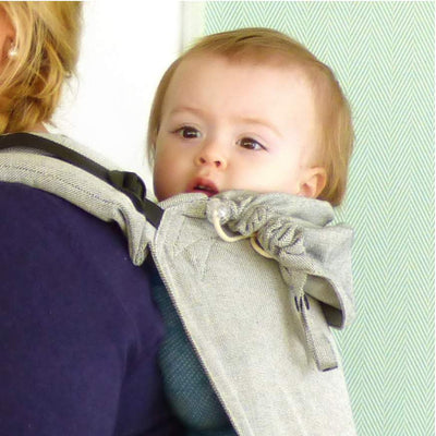 Didymos DidyGo Onbuhimo Silver-Onbuhimo-Didymos- Little Zen One US Babywearing baby carriers