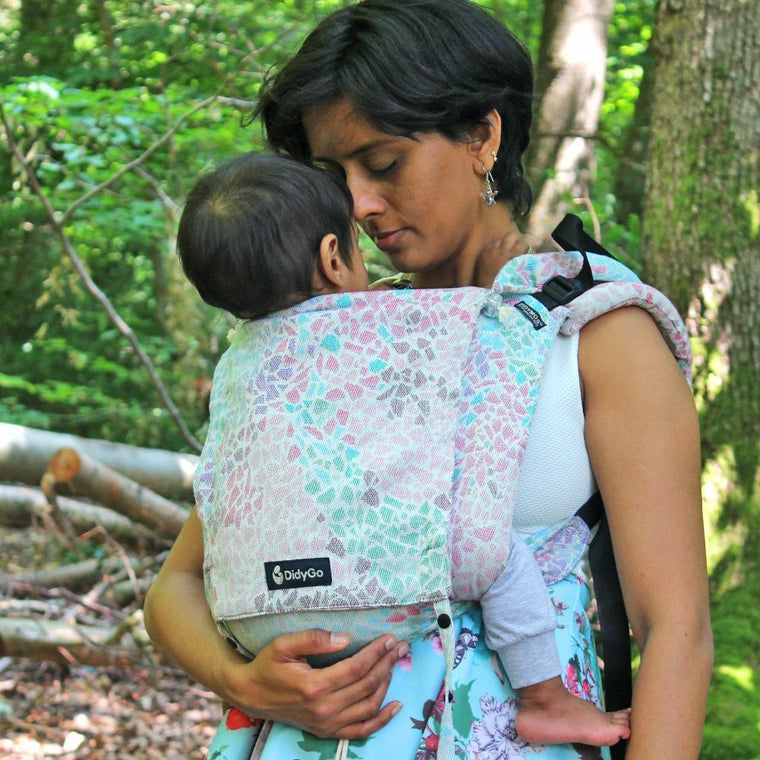 Didymos DidyGo Onbuhimo Summer Mosaic-Onbuhimo-Didymos- Little Zen One US Babywearing baby carriers