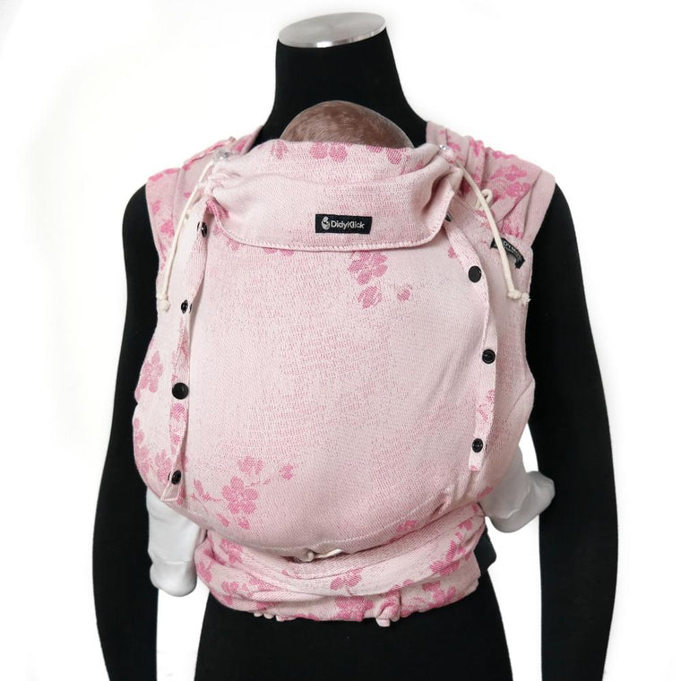 Didymos DidyKlick Cherry Blossom-Half Buckle Baby Carrier-Didymos- Little Zen One US Babywearing baby carriers