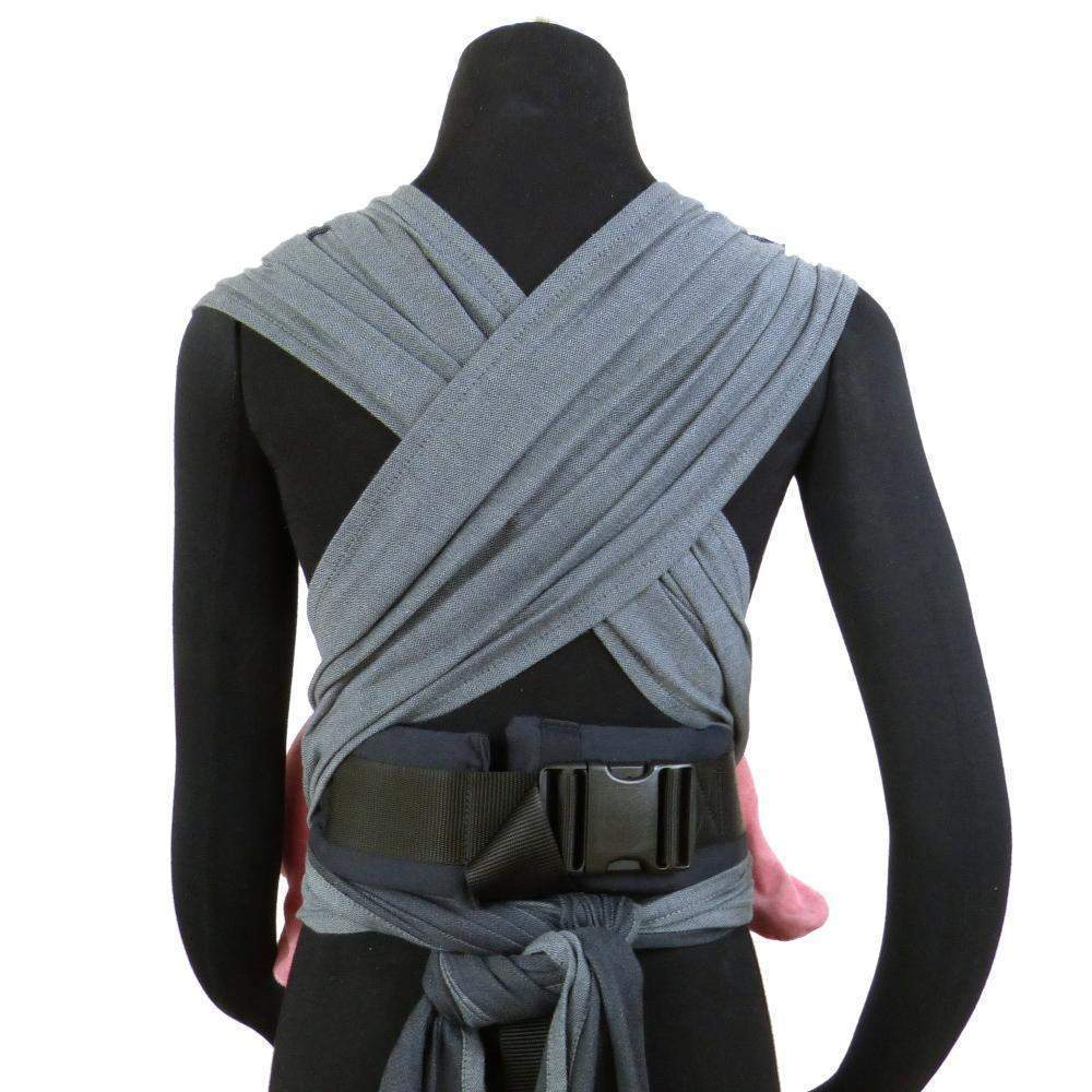 Didymos DidyKlick Doubleface Anthracite-Half Buckle Baby Carrier-Didymos- Little Zen One US Babywearing baby carriers