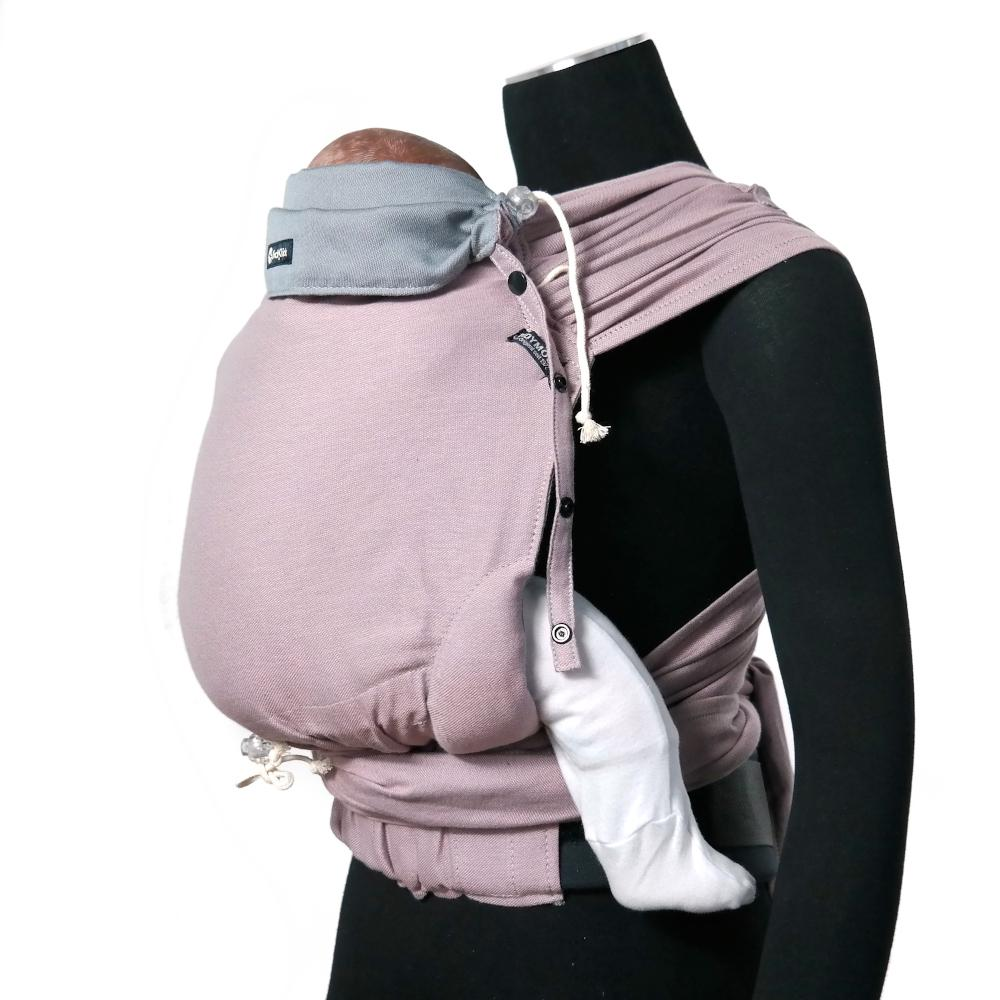 Didymos DidyKlick Doubleface Rosalinde-Half Buckle Baby Carrier-Didymos- Little Zen One US Babywearing baby carriers