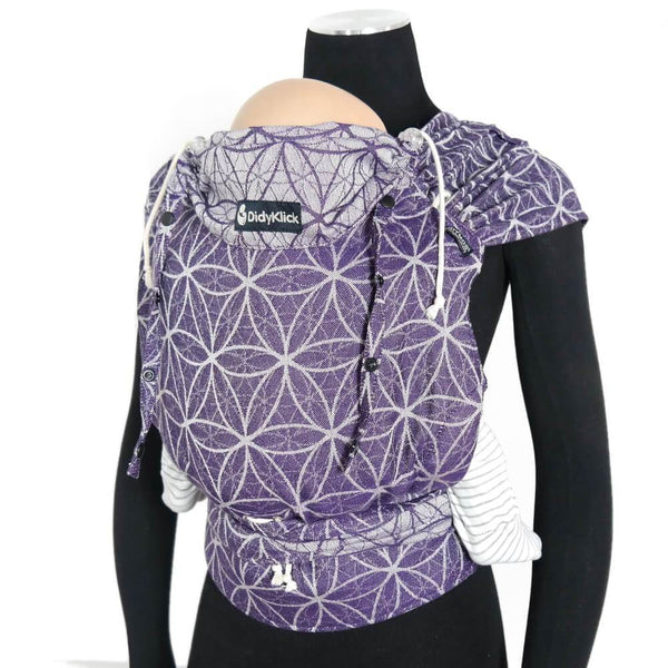 Didymos DidyKlick Flower of Life Clematis-Half Buckle Baby Carrier-Didymos- Little Zen One US Babywearing baby carriers