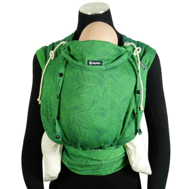 Didymos DidyKlick Green Thicket-Half Buckle Baby Carrier-Didymos- Little Zen One US Babywearing baby carriers