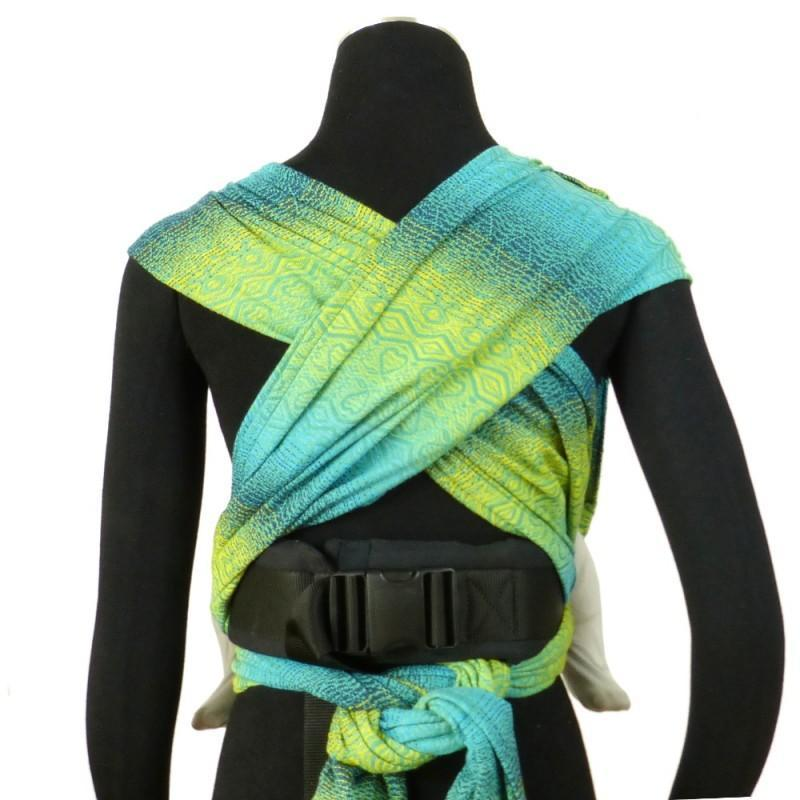 Didymos DidyKlick Hearts Malachite-Half Buckle Baby Carrier-Didymos- Little Zen One US Babywearing baby carriers