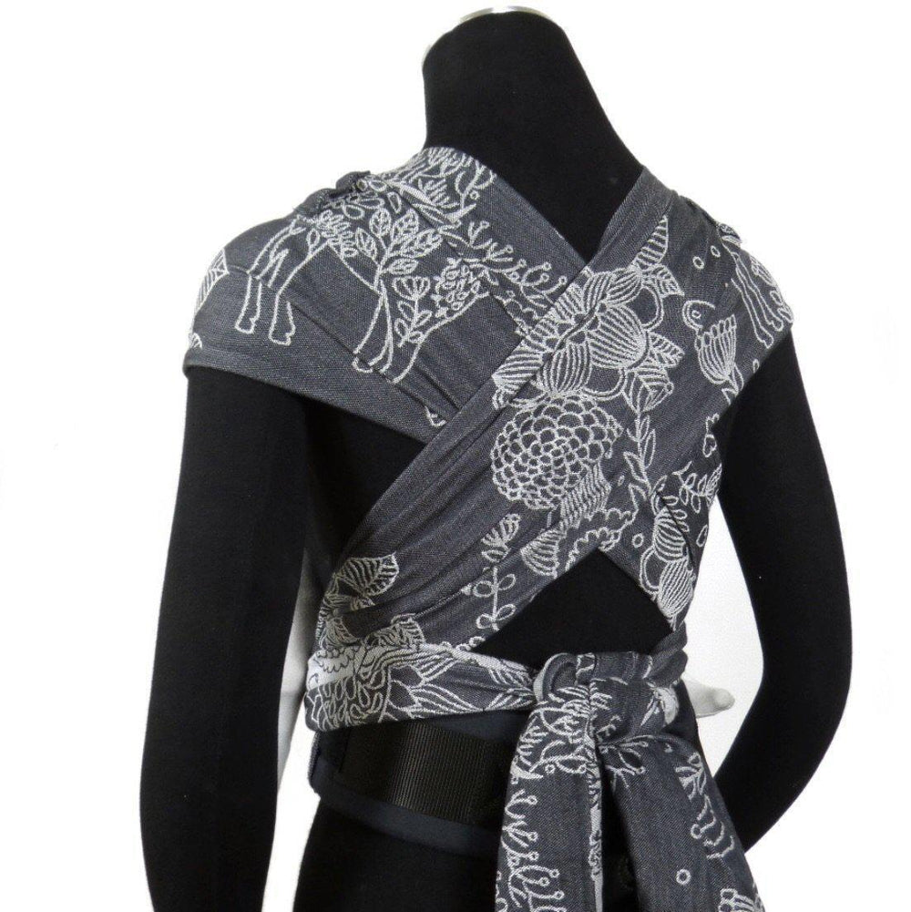 Didymos DidyKlick Magic Forest Monochrome-Half Buckle Baby Carrier-Didymos- Little Zen One US Babywearing baby carriers