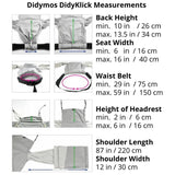 Didymos DidyKlick Metro Monochrome-Half Buckle Baby Carrier-Didymos- Little Zen One US Babywearing baby carriers