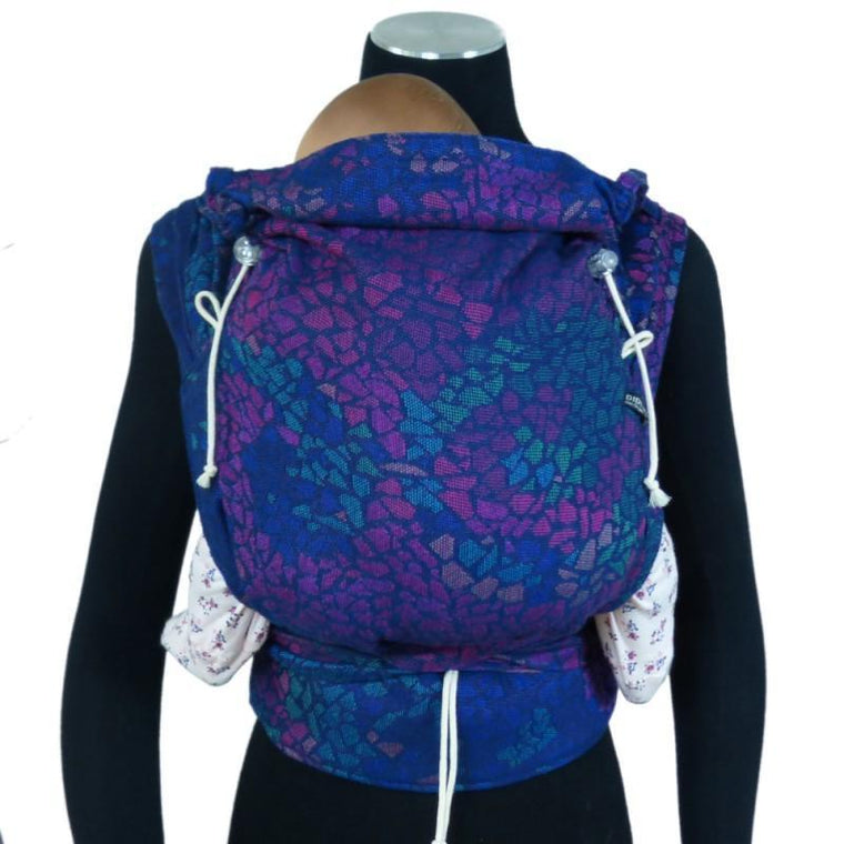 Didymos DidyKlick Mosaic Sparks in the Dark-Half Buckle Baby Carrier-Didymos- Little Zen One US Babywearing baby carriers
