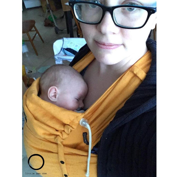 Didymos DidyKlick Prima Sun Yellow-Half Buckle Baby Carrier-Didymos- Little Zen One US Babywearing baby carriers