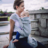 Didymos DidyKlick Silver-Half Buckle Baby Carrier-Didymos- Little Zen One US Babywearing baby carriers