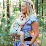 Didymos DidyKlick Summer Mosaic-Half Buckle Baby Carrier-Didymos- Little Zen One US Babywearing baby carriers
