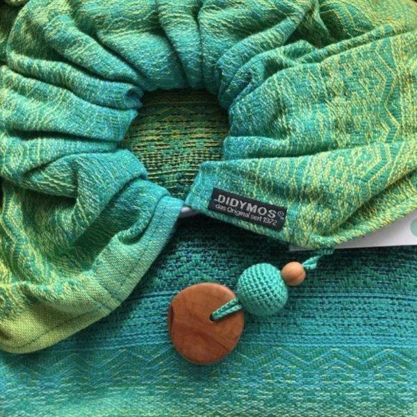 Didymos DidySling Ada Malachite-Ring Slings-Didymos- Little Zen One US Babywearing baby carriers