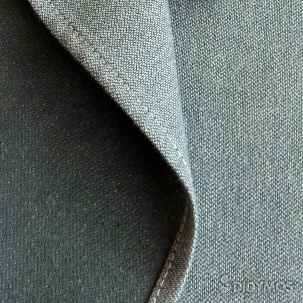 Didymos DidySling Anthracite Doubleface-Ring Slings-Didymos- Little Zen One US Babywearing baby carriers