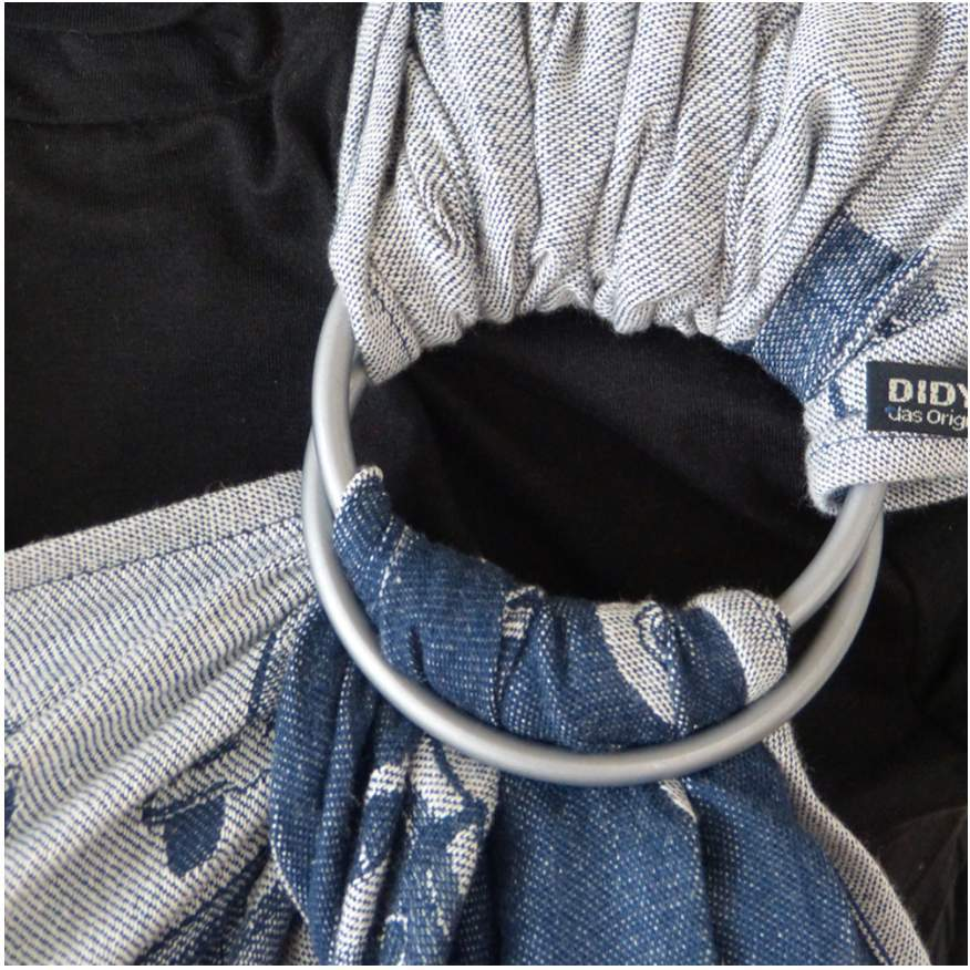 Didymos DidySling Bulli night blue-Ring Slings-Didymos- Little Zen One US Babywearing baby carriers