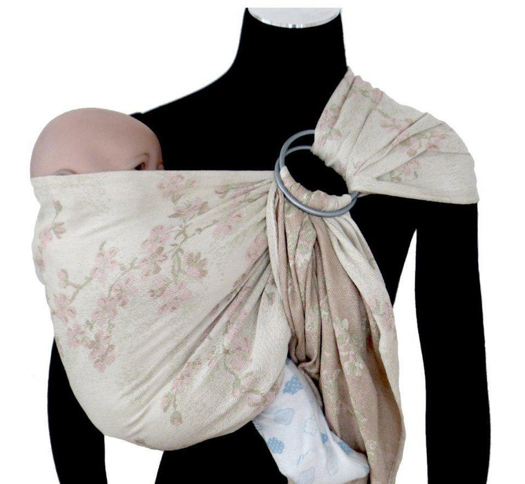 Didymos DidySling Cherry Blossoms Yumemi silk-Ring Slings-Didymos- Little Zen One US Babywearing baby carriers
