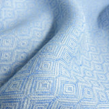 Didymos DidySling Diamond Azur linen-Ring Slings-Didymos- Little Zen One US Babywearing baby carriers
