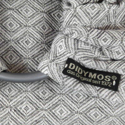 Didymos DidySling Diamond Stone linen-Ring Slings-Didymos- Little Zen One US Babywearing baby carriers