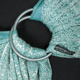 Didymos DidySling Floris Teal-Ring Slings-Didymos- Little Zen One US Babywearing baby carriers