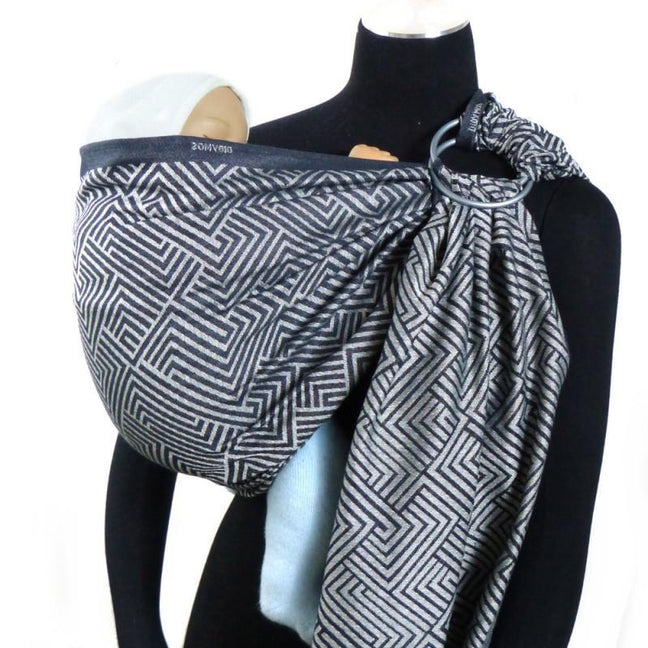Didymos DidySling Metro tussah-Ring Slings-Didymos- Little Zen One US Babywearing baby carriers