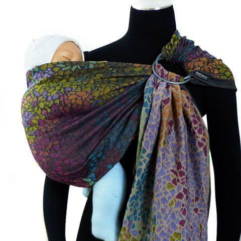Didymos DidySling Mosaic-Ring Slings-Didymos- Little Zen One US Babywearing baby carriers
