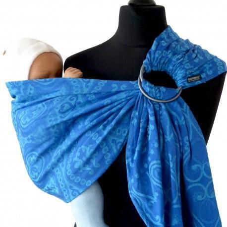 Didymos DidySling Ornament Cornflower-Ring Slings-Didymos- Little Zen One US Babywearing baby carriers