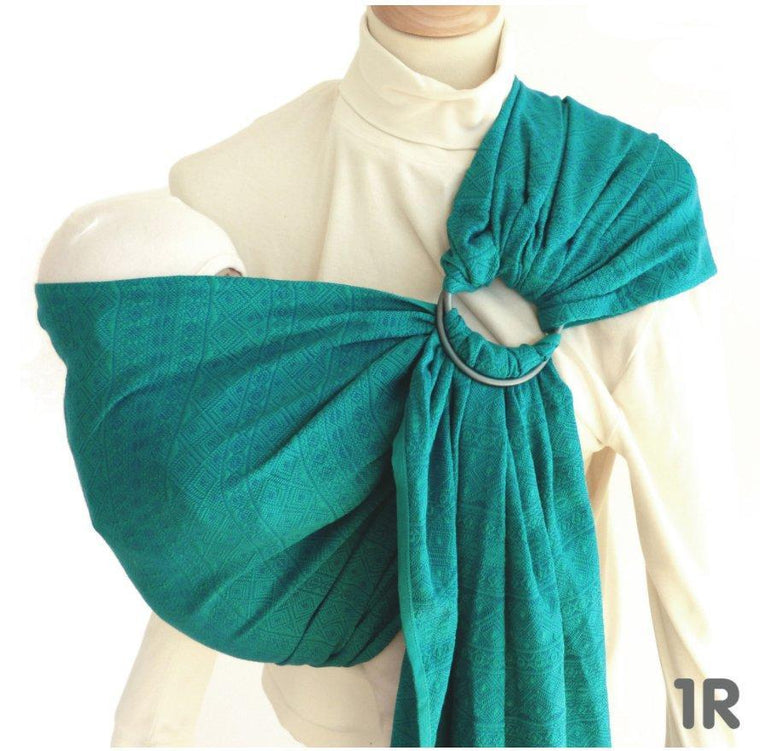 Didymos DidySling Prima Emerald-Ring Slings-Didymos- Little Zen One US Babywearing baby carriers