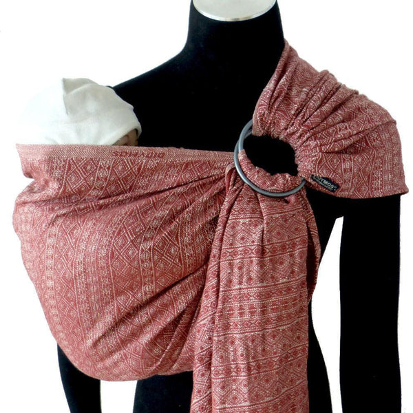 Didymos DidySling Prima Marta hemp silk-Ring Slings-Didymos- Little Zen One US Babywearing baby carriers