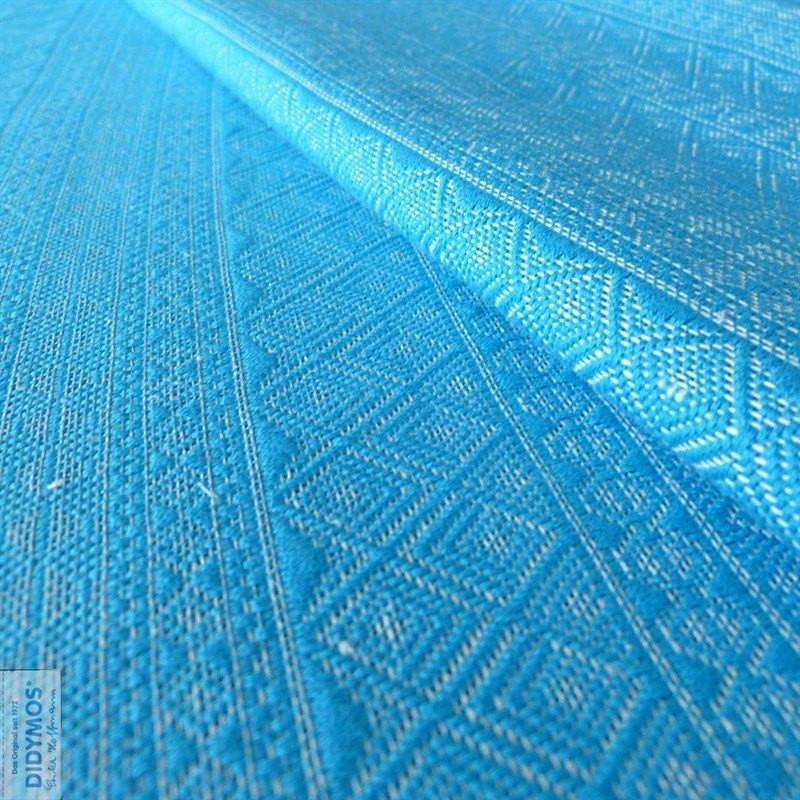 Didymos DidySling Prima Turquoise hemp-Ring Slings-Didymos- Little Zen One US Babywearing baby carriers