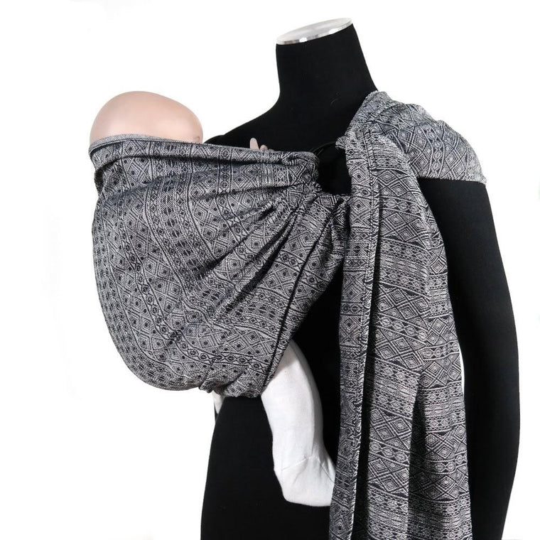 Didymos DidySling Ring Sling Prima Monochrome Tri-Blend-Ring Slings-Didymos- Little Zen One US Babywearing baby carriers