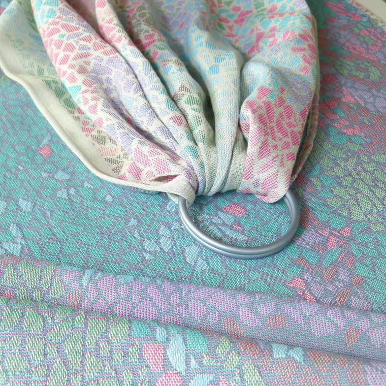 Didymos DidySling Ring Sling Summer Mosaic-Ring Slings-Didymos- Little Zen One US Babywearing baby carriers