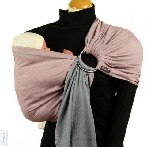 Didymos DidySling Rosalinde Doubleface-Ring Slings-Didymos- Little Zen One US Babywearing baby carriers