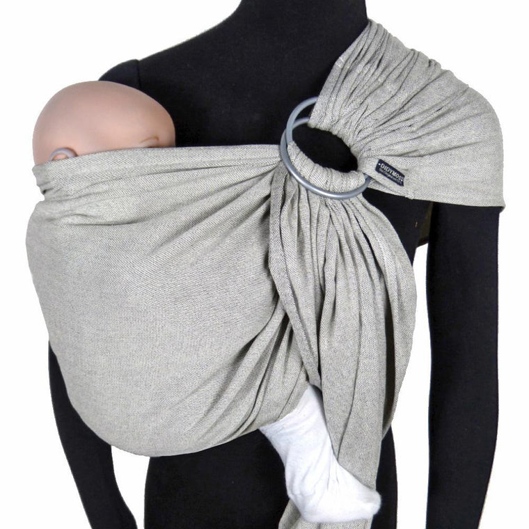 Didymos DidySling Silver-Ring Slings-Didymos- Little Zen One US Babywearing baby carriers