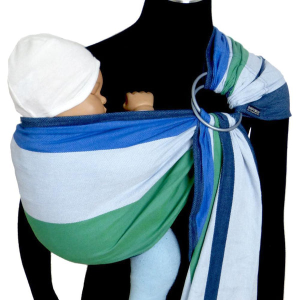 Didymos DidySling Stripes Marie-Ring Slings-Didymos- Little Zen One US Babywearing baby carriers