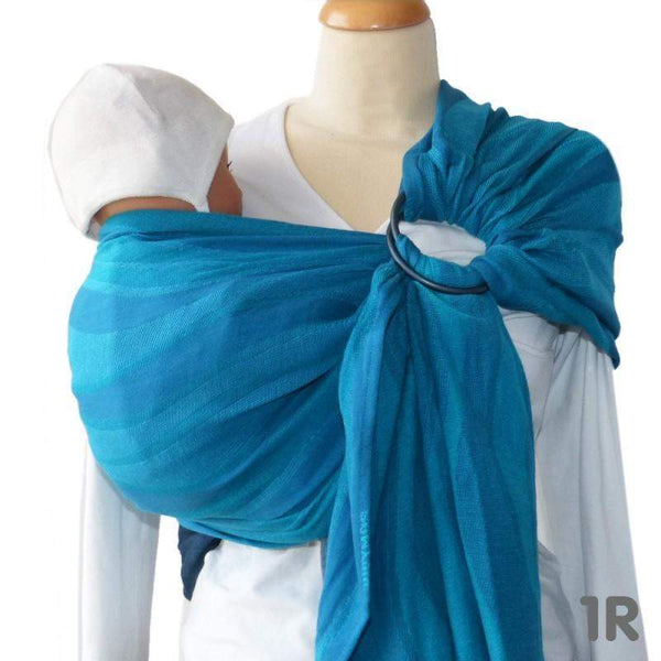 Didymos DidySling Waves Acqua-Ring Slings-Didymos- Little Zen One US Babywearing baby carriers