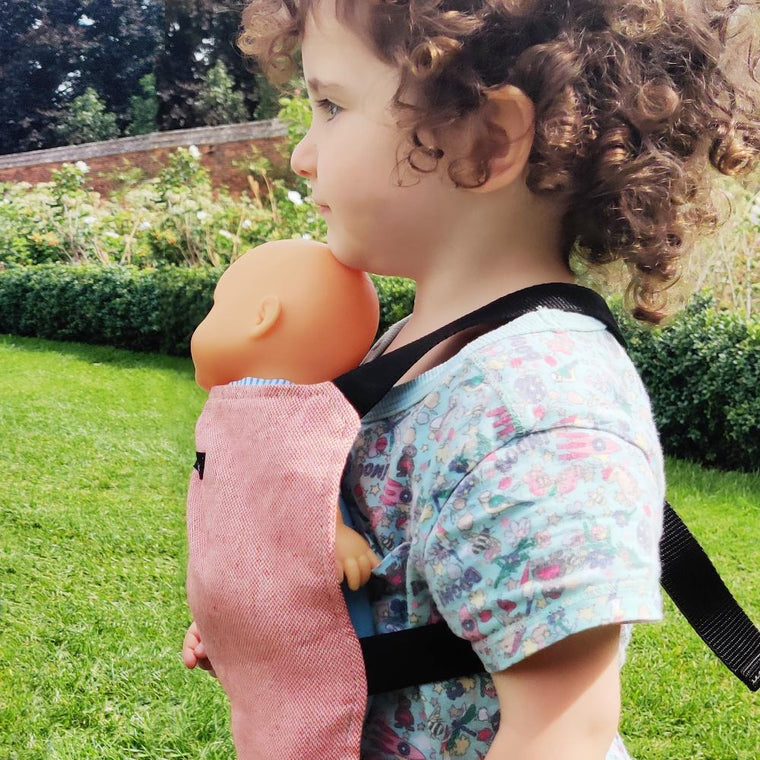 Didymos Doll Snap Chili-Babywearing Accessories-Didymos- Little Zen One US Babywearing baby carriers