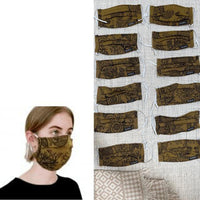 Didymos Fabric Face Mask Magic Forest Harvest