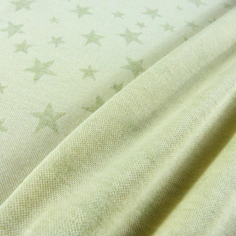 Didymos Hybrid Jersey Colour Grown Doubleface Stars-Hybrid Wrap-Didymos- Little Zen One US Babywearing baby carriers