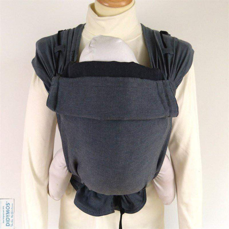 Didymos Meh Dai DidyTai Doubleface Anthracite-Meh Dais-Didymos- Little Zen One US Babywearing baby carriers