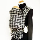 DIdymos Meh Dai DidyTai Houndstooth Anthracite-Meh Dais-Didymos- Little Zen One US Babywearing baby carriers