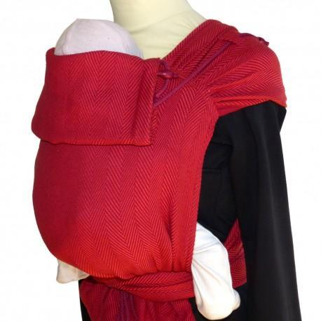 DIdymos Meh Dai DidyTai Lisca Burgundy-Meh Dais-Didymos- Little Zen One US Babywearing baby carriers