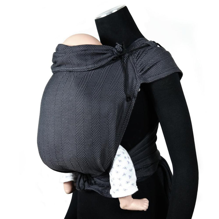 DIdymos Meh Dai DidyTai Lisca Obsidian-Meh Dais-Didymos- Little Zen One US Babywearing baby carriers