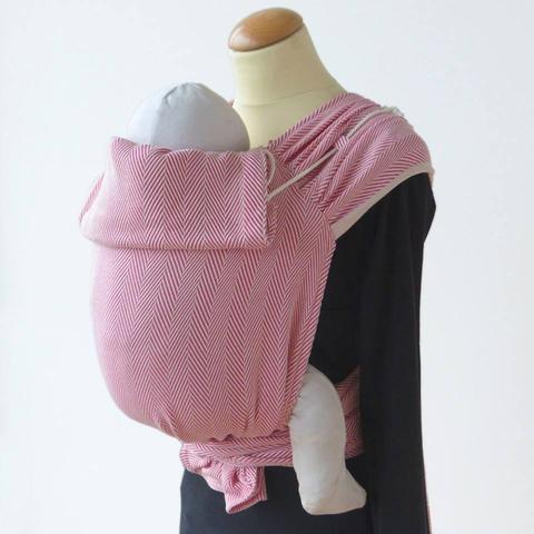 DIdymos Meh Dai DidyTai Lisca Raspberry-Meh Dais-Didymos- Little Zen One US Babywearing baby carriers