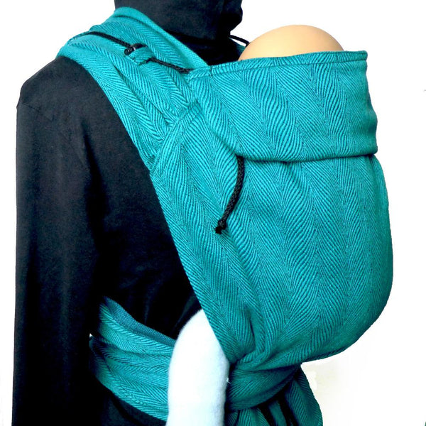 Didymos Meh Dai DidyTai Twisted Lisca Emerald-Meh Dais-Didymos- Little Zen One US Babywearing baby carriers