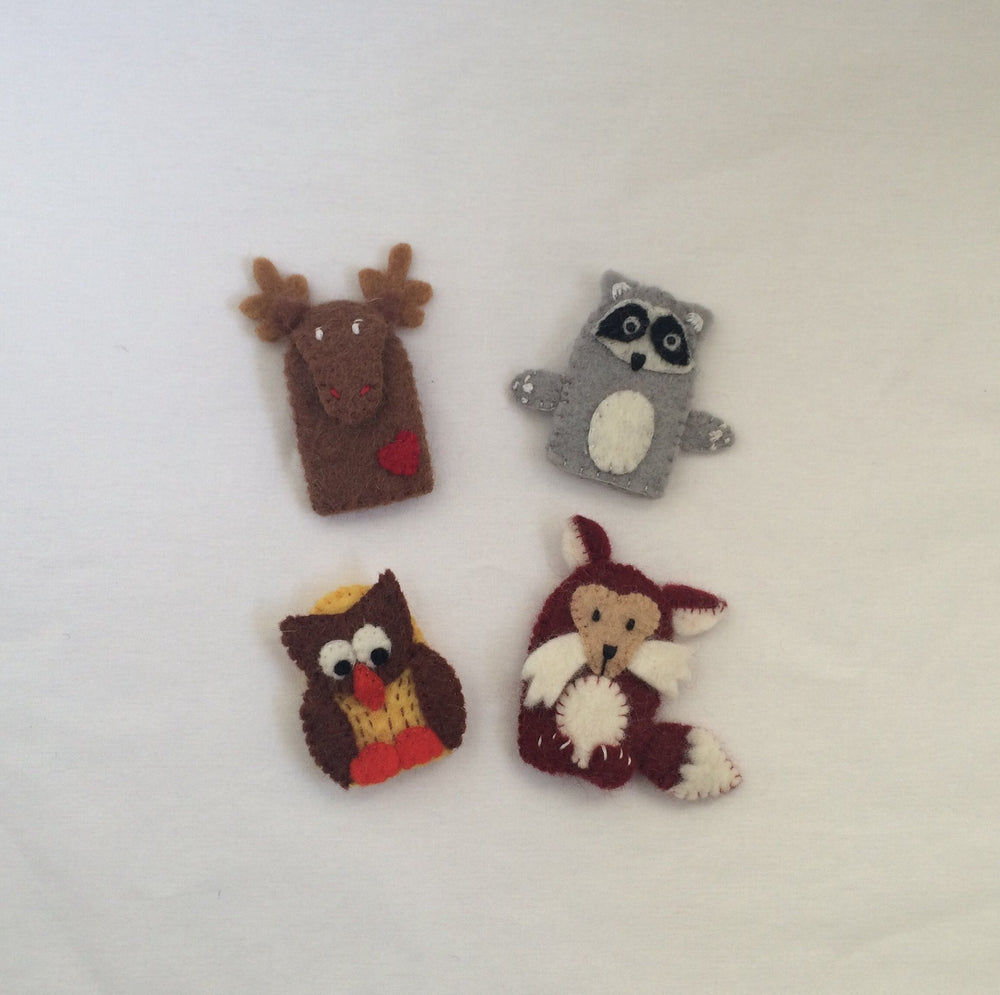 Fair Trade Finger Puppets-Babywearing Accessories-Little Zen One- Little Zen One US Babywearing baby carriers