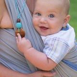 FrejaToys Natural Silk and Wood Necklaces-Babywearing Accessories-FrejaToys- Little Zen One US Babywearing baby carriers