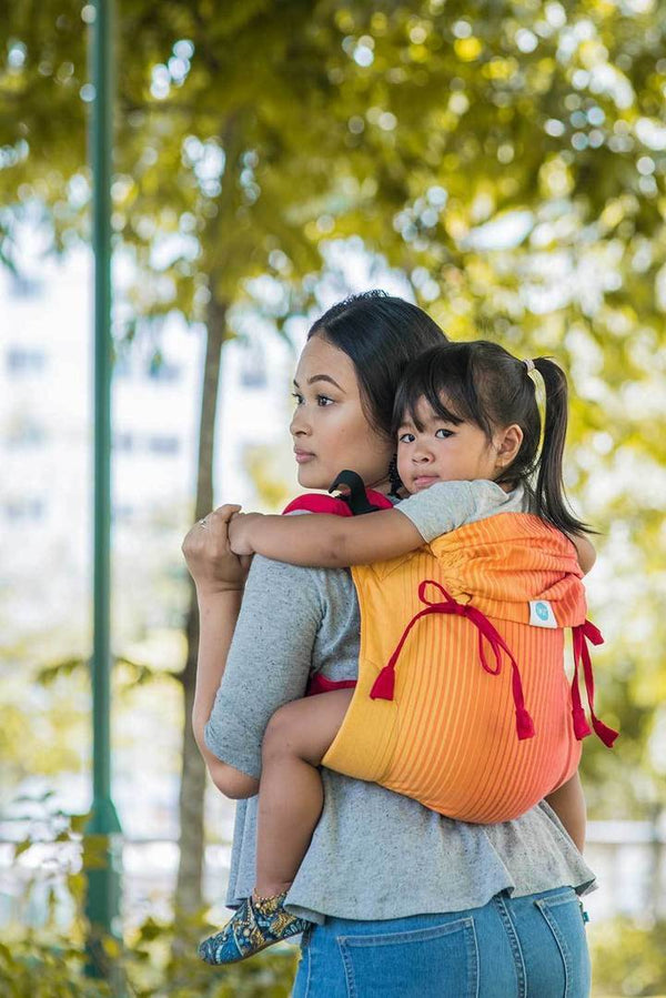Heal: Onbuhimo Soul Slings-Onbuhimo-Soul Slings- Little Zen One US Babywearing baby carriers